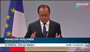 François Hollande tacle Nicolas Sarkozy de ''charlatan'' sur la question du réchauffement climatique