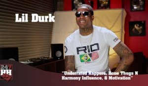 Lil Durk - Underrated Rappers, Bone Thugs N Harmony Influence, & Motivation (247HH Exclusive) (247HH Exclusive)