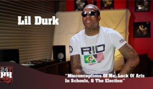Lil Durk - Misconceptions Of Me, Lack Of Arts In Schools & The Election (247HH Exclusive) (247HH Exclusive)