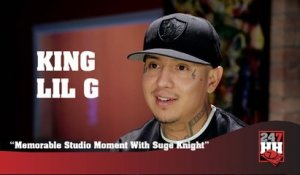 King Lil G - Memorable Studio Moment With Suge Knight (247HH Exclusive)  (247HH Wild Tour Stories)