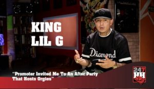 King Lil G - Promoter Invited Me To An After Party That Hosts Orgies (247HH Wild Tour Stories)