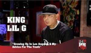 King Lil G - Growing Up In Los Angeles & My Advice For The Youth (247HH Exclusive)  (247HH Exclusive)