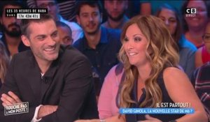 TPMP : Hélène Ségara s'amuse du comportement de David Ginola en coulisses