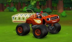 Blaze et les Monster Machines | Le bac à glace | NICKELODEON JUNIOR