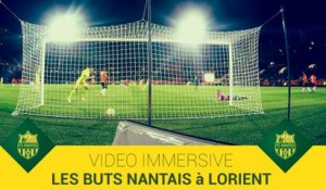 Immersion : les buts nantais vus de la cage lorientaise