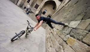 Bike Parkour 2.0 à Barcelone (Tim Knoll)