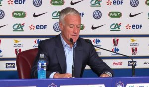 Qualifs CM 2018 - France: la liste des 23 de Didier Deschamps