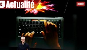 Apple remanie ses MacBook Pro avec du Touch Screen