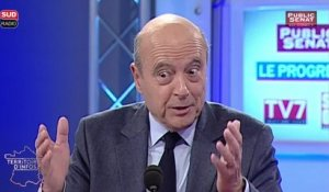 Alain Juppé compare la situation américaine à la France