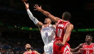 GAME RECAP: Thunder 105, Rockets 103