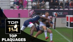 TOP Plaquages de la J12 – TOP 14 – Saison 2016-2017