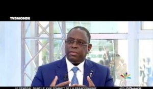 Interview exclusive de Macky SALL sur TV5MONDE