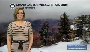 Grand Canyon : 1ère neige cette semaine !