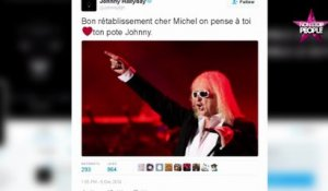 Michel Polnareff hospitalisé : Johnny Hallyday lui adresse un message de soutien (VIDEO)