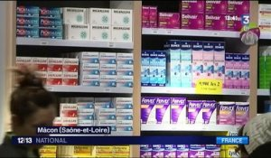 Pharmacies : manifestation contre les fermetures d'officines