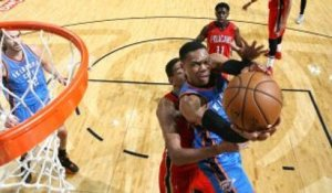 GAME RECAP: Thunder 121, Pelicans 110