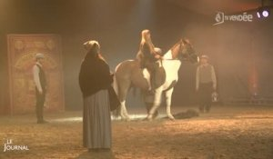 Spectacle : La légende du cheval Mervent 2016 (Vendée)