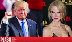 Nicole Kidman dit qu'on doit donner sa chance à Trump