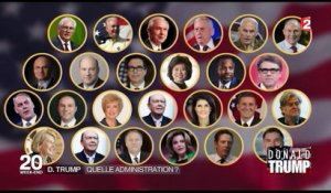 Investiture de Donald Trump : quelle administration ?
