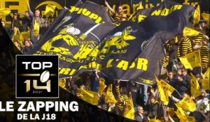 TOP 14 – Le Zapping de la J18– Saison 2016-2017