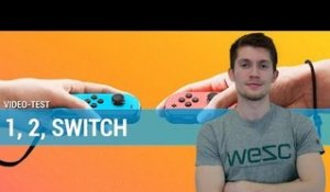 1, 2 Switch - Notre TEST sur le party game de la Switch !
