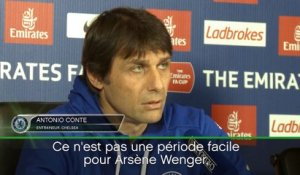 Arsenal - Conte défend Wenger