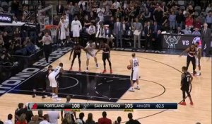 Quand Manu Ginobili tente de rater intentionnellement un lancer...