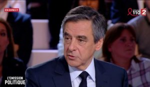 REPLAY INTEGRAL. L'Emission politique avec François Fillon (France 2)