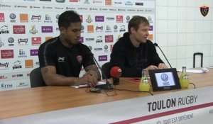 Avant-match Paris/Toulon : Ben Barba
