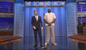 : Jimmy Fallon, Shaquille O'Neal et Pitbull font une battle  - The Tonight Show du 04/04 - CANAL+