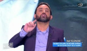 Clash en direct entre Cyril Hanouna et Gilbert Collard à TPMP