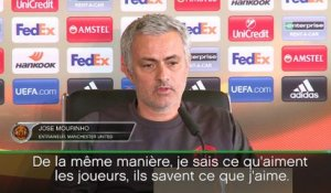 Quarts - Mourihno envoie un message fort à Anthony Martial