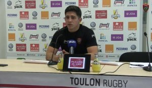 Avant-match Toulon/Toulouse : Anthony Belleau