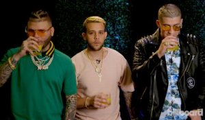 "Play ""Never Have I Ever"" with Farruko, Tostao, and More Artists at the Billboard Latin Music Conference 2017"