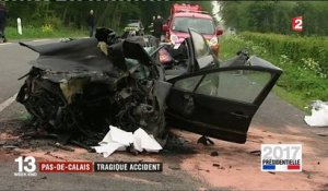 Pas-de-Calais : tragique accident de la route