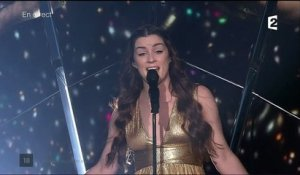 "Lucie Jones ""Never give up on you"" - [ROYAUME-UNI] / EUROVISION 2017 - FINALE"