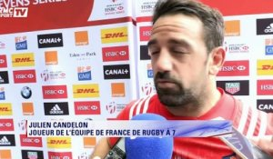 "Rugby à 7 - Candelon : ""Beaucoup de tristesse"""