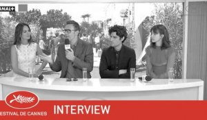 LE REDOUTABLE - Interview - EV - Cannes 2017