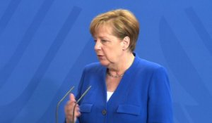 "Merkel appelle l'Europe à devenir un ""acteur international"""