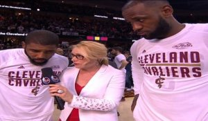 Kyrie Irving and LeBron James Post Game Interview - NTSC