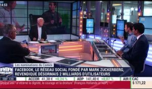 Les nominations du Comex: Mark Zuckerberg et Stéphane Richard - 30/06