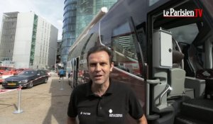 Tour de France : dans le bus high tech de Romain Bardet