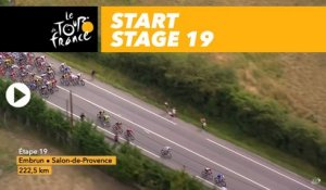 Départ / Start - Étape 19 / Stage 19 - Tour de France 2017