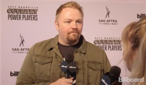 Josh Osborne on the Red Carpet at Country Power Players 2017