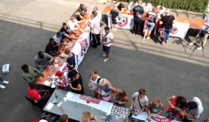 Fan day du Royal Excel Mouscron -dédicaces