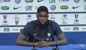 Foot - Bleus : Umtiti «Objectif qualification»