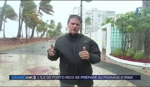Porto Rico : cible imminente de l'ouragan Irma