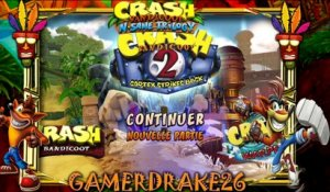 gamerdrake26 live  crash bandicoot n sane trilogy (14/09/2017 17:18)