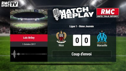 Nice Marseille 2 4 Le Match Replay Avec Le Son Rmc Sport Video