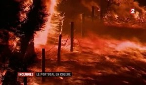 Incendies : le Portugal en colère